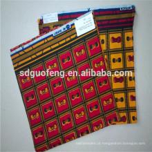 A cera africana da tela a mais atrasada imprime a tela africana da cópia da cera da tela por atacado