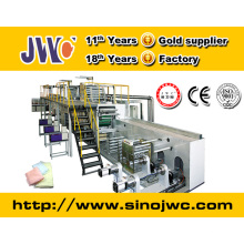 Economic full servo under pad machinery equipment manufacturer with CE approved