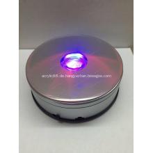 360 Grad drehbarer Drehscheibenständer mit LED