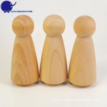 Custom DIY Wooden Peg Doll
