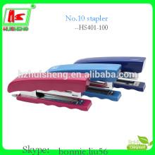 factory hot sale small plastic staplers , luxury stapler (HS403-100)