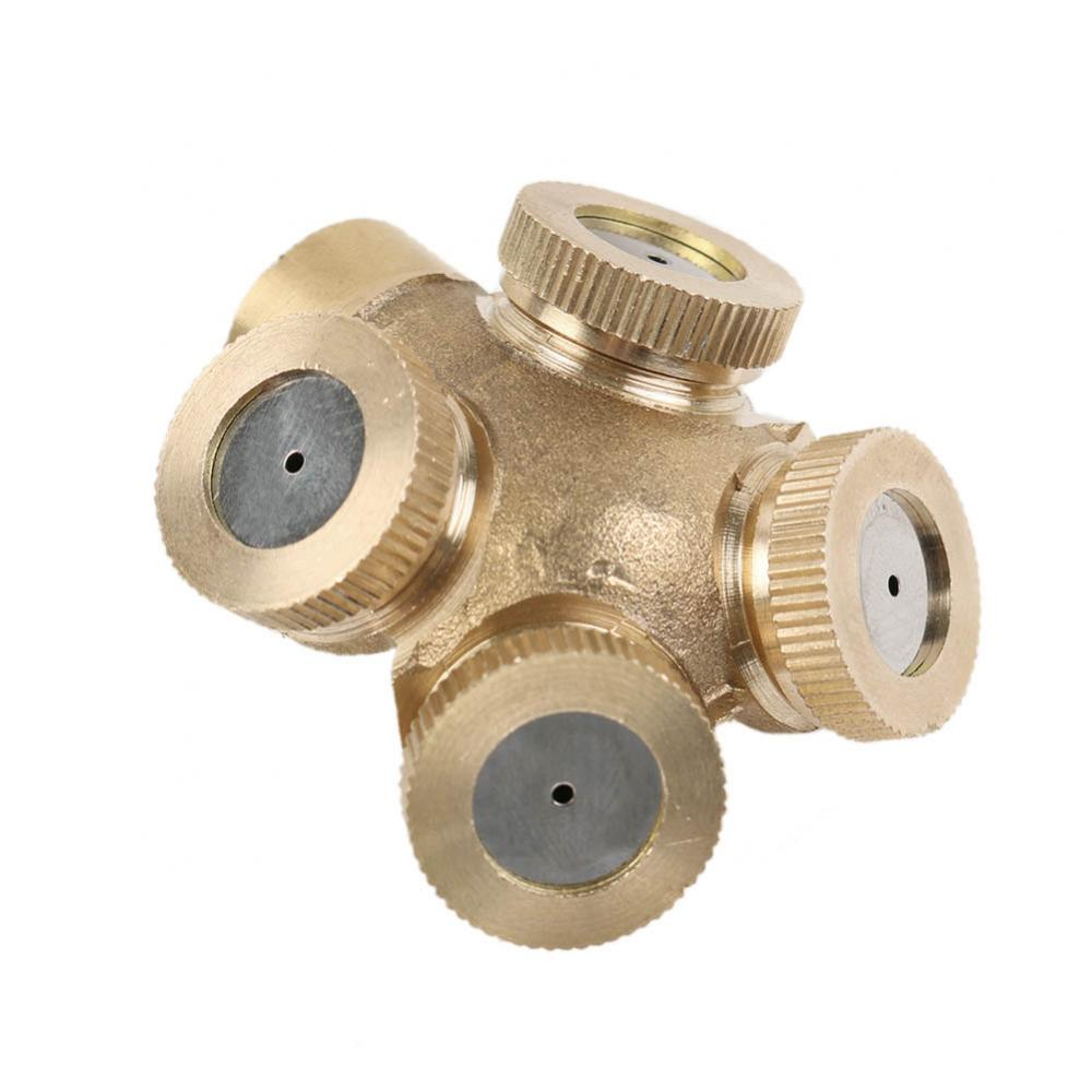 Hole Brass Spray เครื่องพ่นแบบ Multi Spray Nozzle Spray Watering