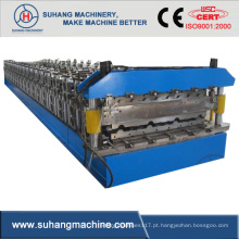 Pass Ce e ISO Double Deck Roof Panel Roll Forming Equipment Production