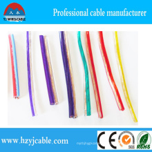 Low Voltage Stereo Transparent Speaker Cable 2*1.0mm2 Copper Wire