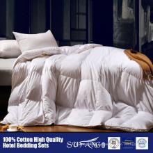 Роскошные высокого класса пушистые альтернативные утка вниз одеяло пуховое одеяло для гостиницы/домашнего использования утка вниз пуховое одеяло из гусиного пуха