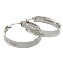 alibaba website 2014 new product crystal hoop earring, women earring