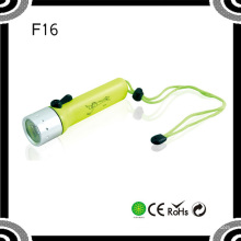 Poppas F96 Portable 4xaa 120lumens Xre Q5 Ipx8 Waterproof High Power Diving Lampe de poche LED