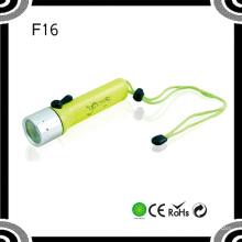Poppas F96 portátil 4xaa 120lumens Xre Q5 Ipx8 Lanterna impermeável do diodo emissor de luz do mergulho do poder superior