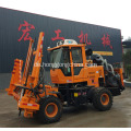 Multifunktionale Highway Guardrail Pile Machine