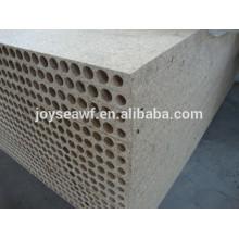 Panel de partículas huecas de melamina, 33mm 34mm 38mm 30mm 35mm Panel de aglomerado hueco grueso