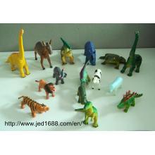 Custom Design Vinyl Toy Figures, Wholesale OEM Animal Toy Figure for Children