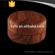 20ml rond petit récipient de crème cosmétique vide avec figure en bois