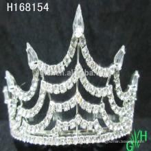 Оптовые дешевые миниатюрные короны и хрустальная тиара