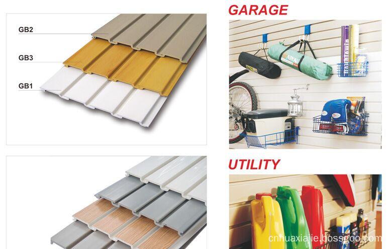 Pvc Garage Storage Wall Panels