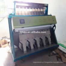 Top marca SKS capacidade grande 6 chutes máquina classificador de cor na China para grãos de arroz