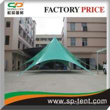 PVC marquee tent, outdoor event tent, star shaped tent