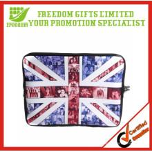 O logotipo relativo à promoção relativo à promoção imprimiu sacos portáteis do portátil do nopreno