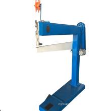 Corrugated Paper Box Semi-Automatc single Carton Box Stapler Machine