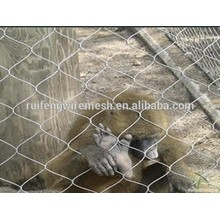Stainless Steel Wire Rope Twisted Mesh