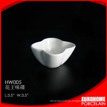 diseño de la flor desde china 3,5 pulgadas uso placa de salsa del samll