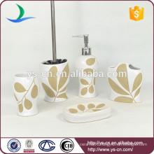 Fantastic hand made ceramic fancy bath accessories