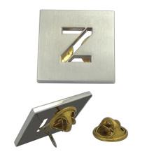"""Personalizado hueco de plata """"Z"""" Badge"""