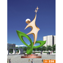 Modern Large Famous Arts Abstract Stainless steel sculpture for Garden decoration