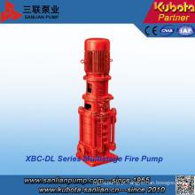 Bomba de combate a incêndio multiestágios da série Xbd-Dl