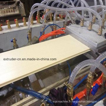 Machine de panneau de plafond de PVC / ligne d'extrusion de profil en plastique