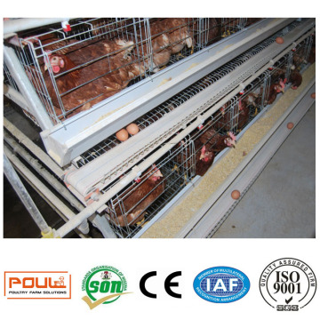 Commercial Poultry Egg Layer Cage Chicken Battery Coop