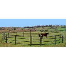 Круглые фермы загон, стойло для лошади