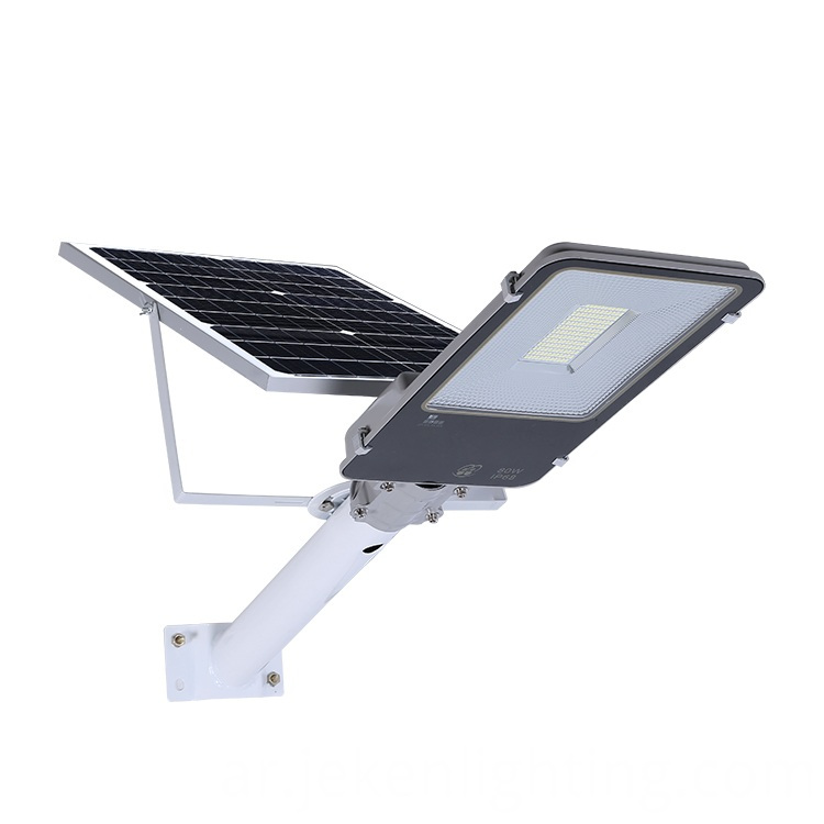 Solar Street Lamp With Panel