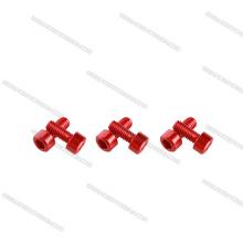 Hot sales button and socket head cap 7075 aluminum bolts and screws