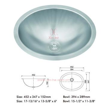Edelstahl Topmount Sink