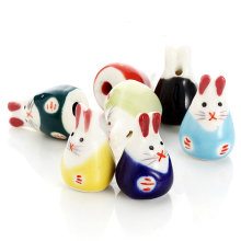 15*23MM Bunny Beads Spacer Ceramic Animal Luck Rabbit Beads