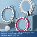 Non-Drop Digital Count Adjustable Massage Smart Weighted Fitness Hula Ring Hoop