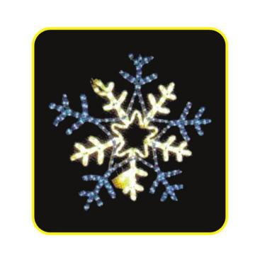 Светодиодный фонарик Снежинка
