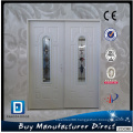 Twin 1/2 Light Entry Door with Glass