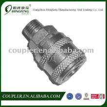 Pneumatische Schnellwechselkupplung aus Stahl für Druckluftwerkzeug