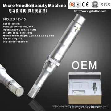 Elektrische Auto-Mikronadel Haut Nadel Dermapen (ZX12-15)