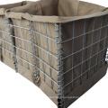 Easy Installation Galfan Wire MIL 12 hesco barrier