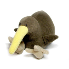 Große Größe Plüsch Kiwi Vogel Spielzeug