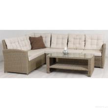 Garten Schnitt Rattan Wicker Möbel Outdoor-Lounge Sofa Set