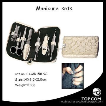 Kit de unhas em acrílico, manicura, pedicura e manicura