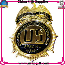 High Quality Police Badge and Pin with Small Order Acceptable