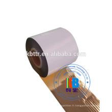 Ruban en résine pour imprimante, brillant, or, résine de lavage, ruban pour imprimante à encre thermique