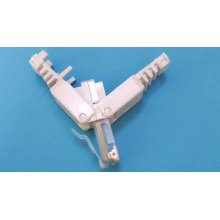 RJ45 UTP toolless Stecker Cat5e 8P8C Stecker