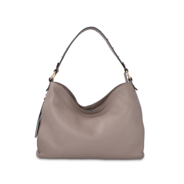 Top Zip Bag Bolso Hobo de cuero japonés