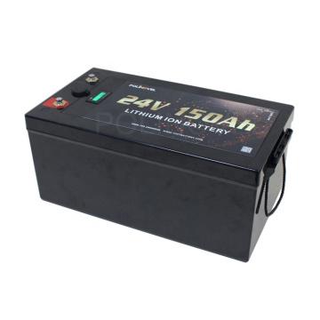 Polinovel LCD Monitor Dual USB Port Lithium Ion 24v Solar Battery 150ah