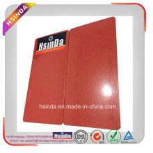 Kundengebundene Farbgoldmetallische glatte rote Sprühfarbe-Pulver-Beschichtung
